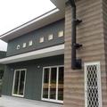 岩手県住田町県産材を使用し、吹き抜け、薪ストーブのある住宅